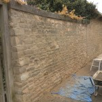 Hydraulic lime pointing, brick and stone