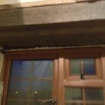 Lintel repair and traditional putty lime plastering